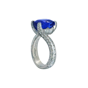 Sapphire and Diamond Ring 02