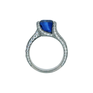 Sapphire and Diamond Ring 03-2