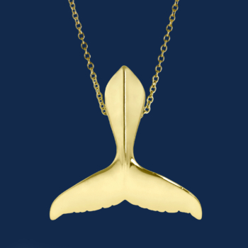 be-jewelled for wildaid 18k gold humpback whale tail handcrafted by alexander jewell