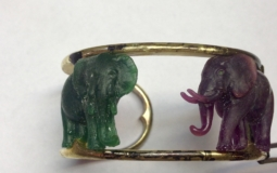 wildAid serengeti bracelet hand carved elephants in wax how fine jewelry is made